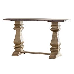 HomeVance Renwick Industrial Console Table