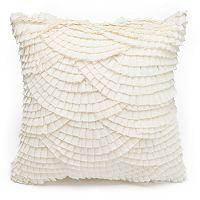 LC Lauren Conrad Scallop Throw Pillow