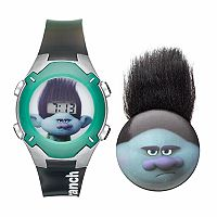 DreamWorks Trolls Branch Kids' Digital Light-Up Watch & Pin Set