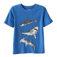 Boys 4-10 Jumping Beans® Patterned Slubbed Tee