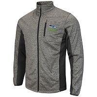 Men's Seattle Seahawks Space-Dye Full-Zip Fleece Jacket