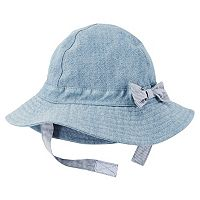 Baby Girl Carter's Chambray Sun Hat