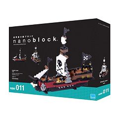nanoblock Level 5 Pirate Ship 3D Puzzle by