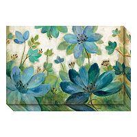 Peacock Bloom Canvas Wall Art