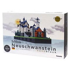 nanoblock Deluxe Edition Level 7 Schloss Neuschwanstein Castle 3D Puzzle by