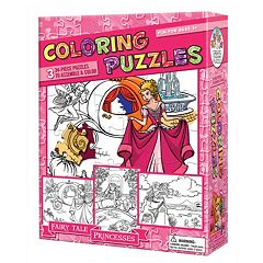Coloring Puzzles Fairy Tale Princesses by Outset Media