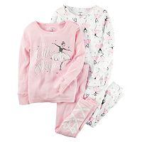 Toddler Girl Carter's Ballerina Pajama Set