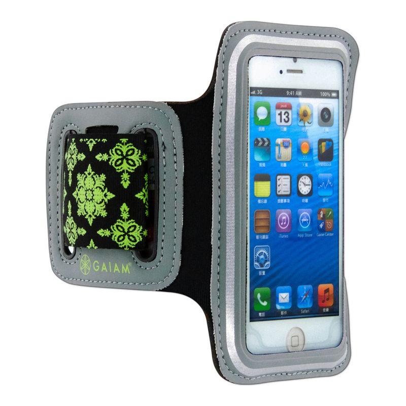 Gaiam iPhone 5 \/ 5S Sport Armband, Green