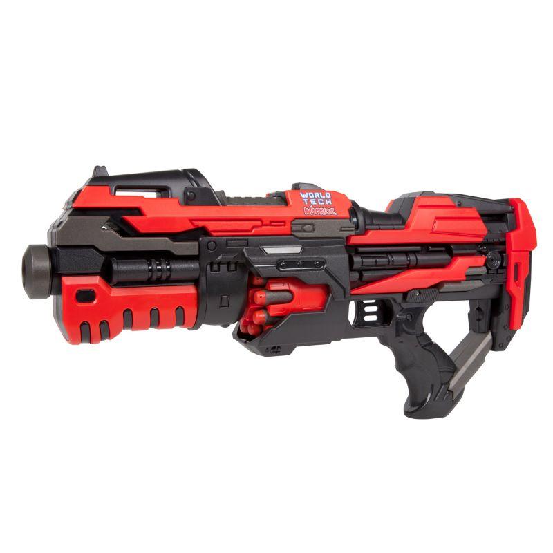 World Tech Toys Warrior Renegade Motorized Dart Blaster, Red thumbnail