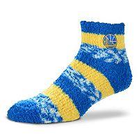 Women's For Bare Feet Golden State Warriors Pro Stripe Sleep Socks