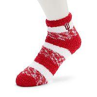 Women's For Bare Feet Indiana Hoosiers Pro Stripe Sleep Socks