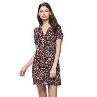 Juniors' Candie's® Floral Shirtdress