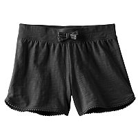 Girls 4-10 Jumping Beans® Solid Dolphin-Hem Shorts