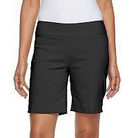 Women's Dana Buchman 8-in. Pull-On Dress Shorts