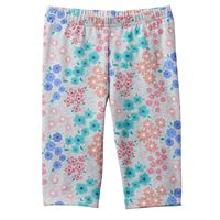 Baby Girl Jumping Beans® Floral Capri Leggings