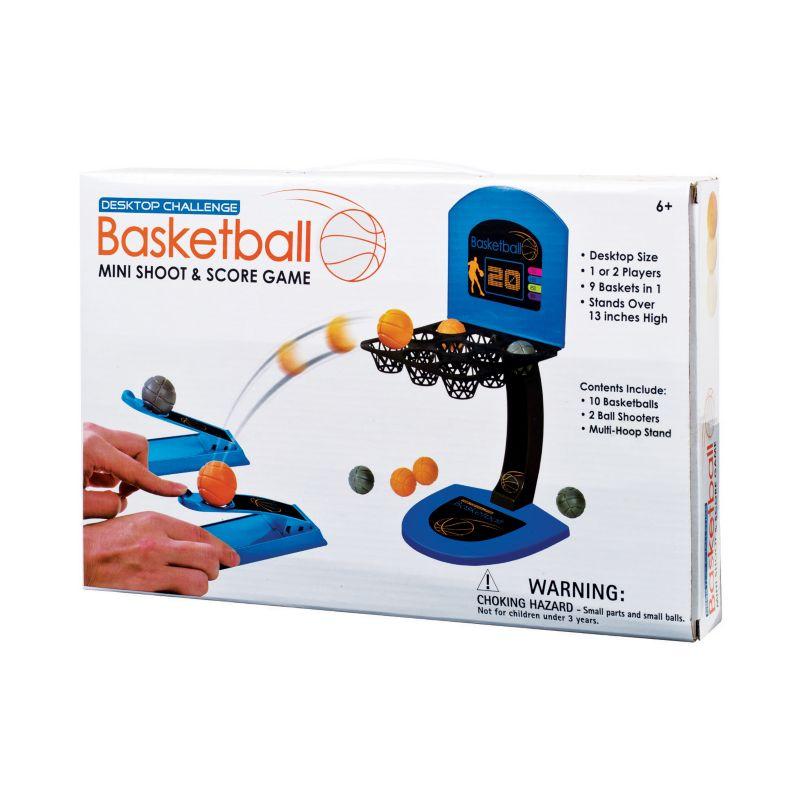 Westminter Inc. Desktop Challenge Basketball Mini Shoot & Score Game, Multicolor thumbnail
