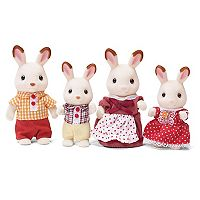 Calico Critters Hopscotch Rabbit Family Set
