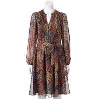 Women's MSK Pintuck Shirt Dress