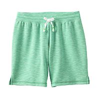 Girls 7-16 & Plus Size SO® Slubbed Soft Midi Shorts