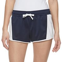 Juniors' SO® Colorblock Track Shorts