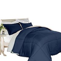 Kathy Ireland 3-piece Microfiber & Sherpa Down Alternative Comforter Set
