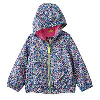Toddler Girl Carter's Hooded Lightweight Print Jacket