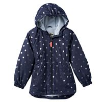 Toddler Girl OshKosh B'gosh® Fleece-Lined Dot Midweight Jacket