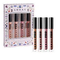 LORAC 4-pc. California Dreaming PRO Liquid Lipstick Set