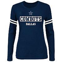 Plus Size Dallas Cowboys Arm Stripe Tee