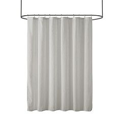Madison Park Lydia Sheer Shower Curtain by