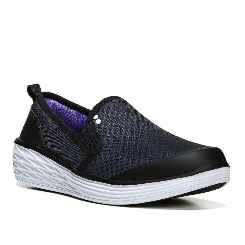 Ryka Neve Women's Wedge Shoes, Size: medium (10.5), Black thumbnail