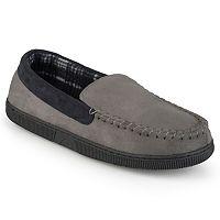 Perry Ellis Men's Moccasin Slippers