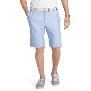 Men's IZOD Flat-Front Oxford Shorts