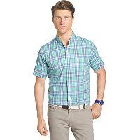 Men's IZOD Check Advantage Button-Down Shirt