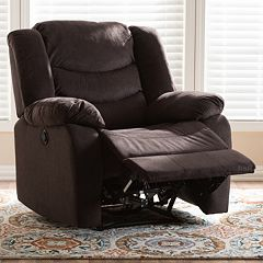 Baxton Studio Lynette Recliner Chair  by