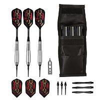 Fatal Shot Underground Soft Tip Darts & Casemaster Black Single Dart Case Set by Viper