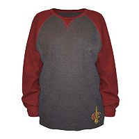 Big & Tall Majestic Cleveland Cavaliers Raglan Thermal Tee