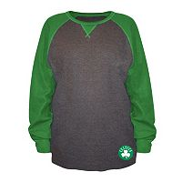 Big & Tall Majestic Boston Celtics Raglan Thermal Tee