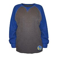 Big & Tall Majestic Golden State Warriors Raglan Thermal Tee