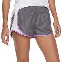 Juniors' SO® Side-Stripe Running Shorts