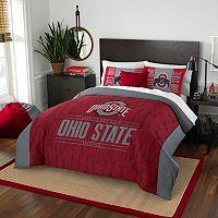 Ohio State Buckeyes Modern Take Full/Queen Comforter Set by Northwest