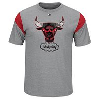 Big & Tall Majestic Chicago Bulls Team Tee