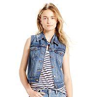 Women's Levi's Authentic Jean Vest