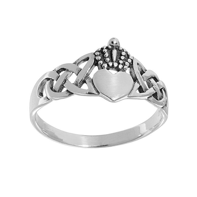 Claddagh rings kohl 39 s for Kohls jewelry mens rings