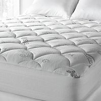 Downlite Lyocell-Poly Knit Mattress Pad