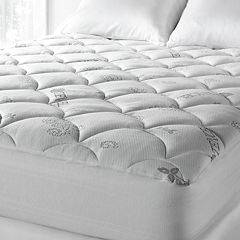 Downlite Lyocell-Poly Knit Mattress Pad by