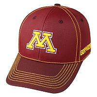 Adult Top of the World Minnesota Golden Gophers Tactile One-Fit Cap