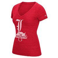 Women's adidas Louisville Cardinals Football Tee