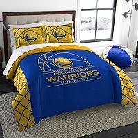 Golden State Warriors Reverse Slam Full/Queen Comforter Set by Northwest