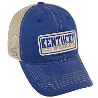 Adult Top of the World Kentucky Wildcats Patches Adjustable Cap